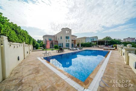 6 Bedroom Villa for Sale in Dubai Sports City, Dubai - Immaculate | 6 Bedrooms | Golf Course View