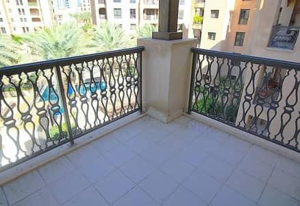فلیٹ 1 غرفة نوم للايجار في المدينة القديمة، دبي - Bright and Quiet I Upgraded I Pool View