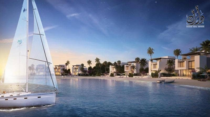 2 Beach Views   Stylish Villa Waterfront   Easy Payment Plan    5 Years Ptn