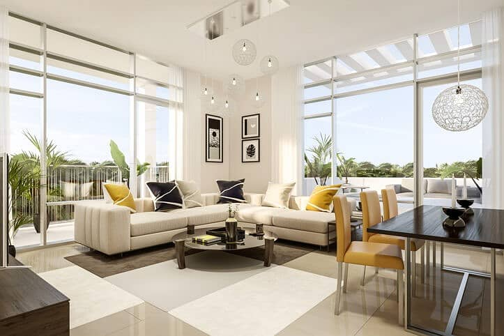 !! I own your apartment at an attractive price directly with Al-Zahia Mall with installments that extend for me 7 years