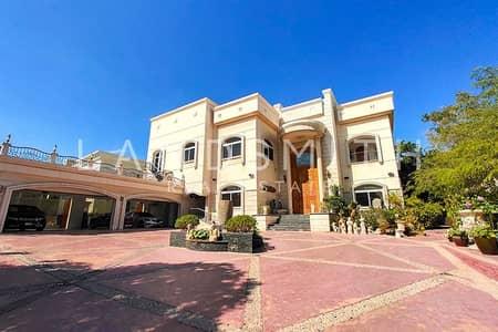 فیلا 5 غرف نوم للبيع في تلال الإمارات، دبي - Golf Course View 5BR Huge Plot Mansion Sector E