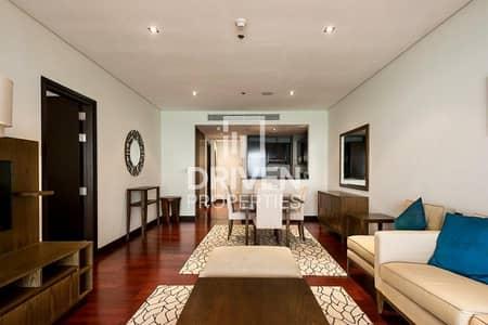 فلیٹ 1 غرفة نوم للايجار في نخلة جميرا، دبي - Furnished 1 Bed Unit with Full Sea View