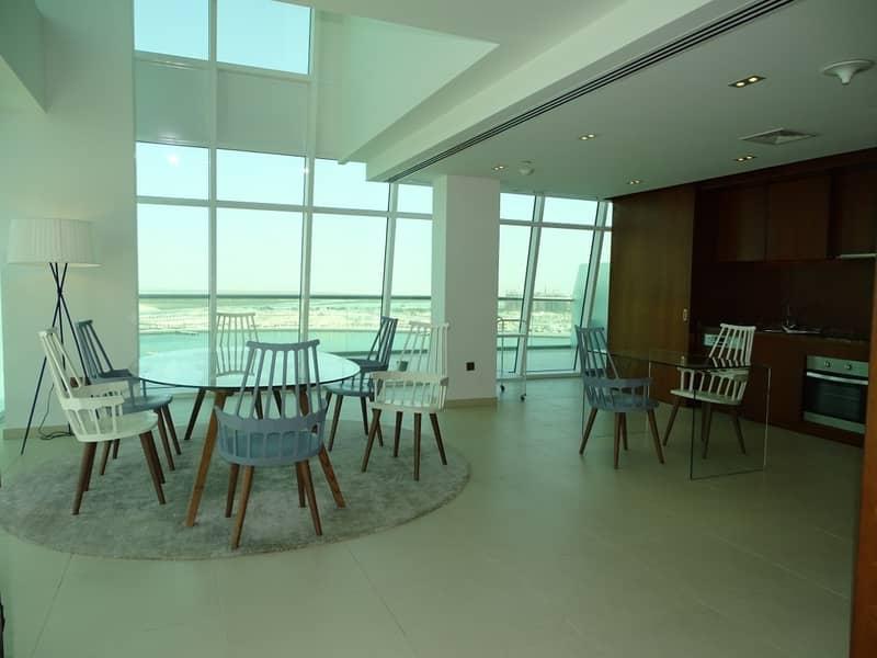 Huge Penthouse super deluxe 4br in al Raha Beach