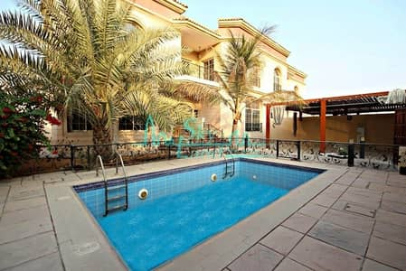 5 Bedroom Villa for Rent in Jumeirah, Dubai - Very spacious 5 bed with private pool Jumeirah 2
