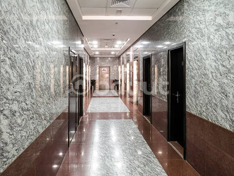 Open view one bedroom apartment for rent at lilies tower 16000 yearly