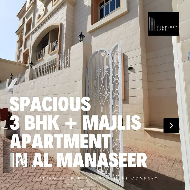 2 Spacious and luxurious 3 Bedroom Apartment in Abu Dhabi City