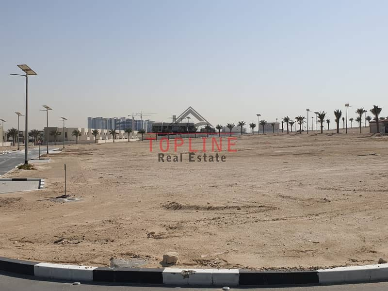 3 sides corner Plot For Sale - Al Furjan
