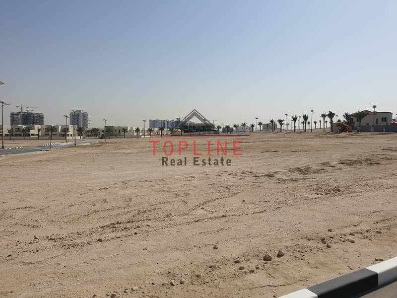 10 3 sides corner Plot For Sale - Al Furjan