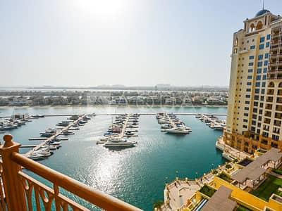 شقة 2 غرفة نوم للايجار في نخلة جميرا، دبي - 2 Bedrooms plus maid | Sea View | Vacant
