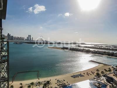فلیٹ 1 غرفة نوم للايجار في نخلة جميرا، دبي - Affordable  1Br. with full sea view