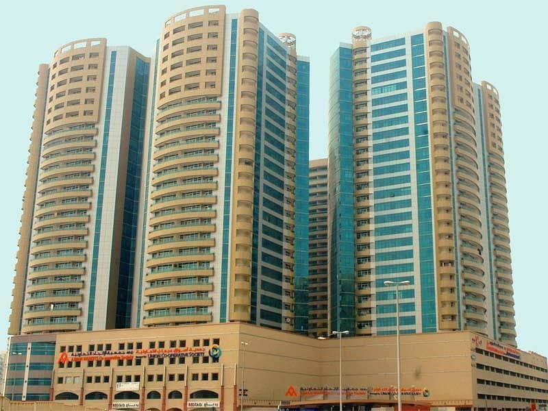 1 BHK INSTALLMENTS IN HORIZON TOWERS FOR 3 YEARS
