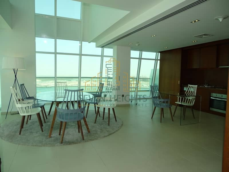 2 Huge Penthouse super deluxe 4br in al Raha Beach