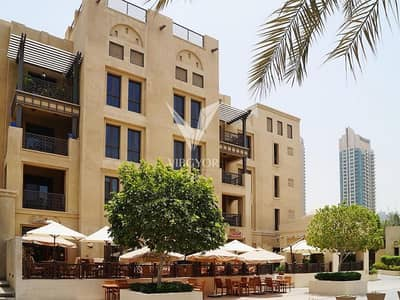 1 Bedroom Flat for Rent in Old Town, Dubai - Al Kamoon | 1BR with Private Garden