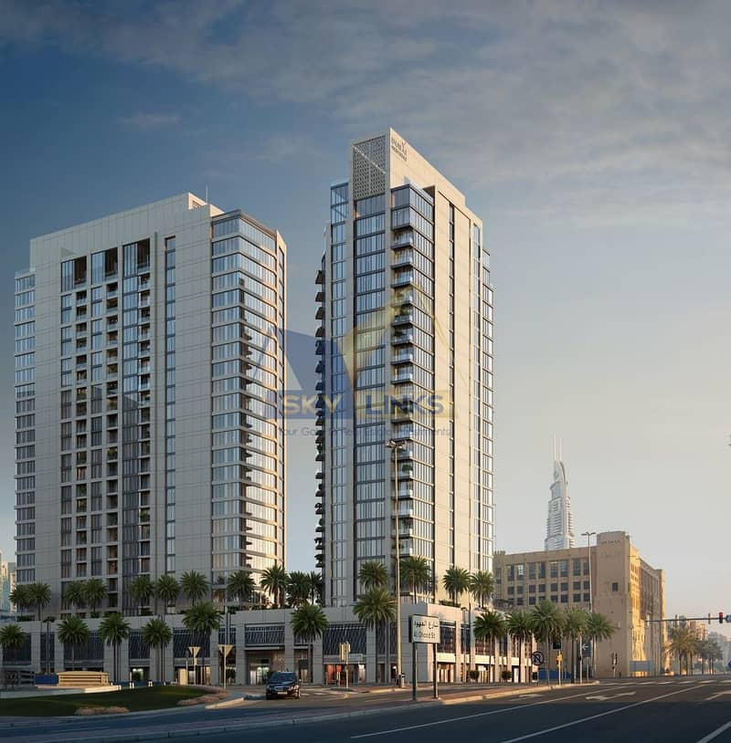 2 BRAND NEW 2 BR APARTMENT FOR SALE  IN DOWNTOWN DUBAI