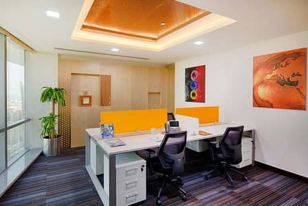 Office for Rent in Deira, Dubai - Premium Serviced Office  (All Bills Included)