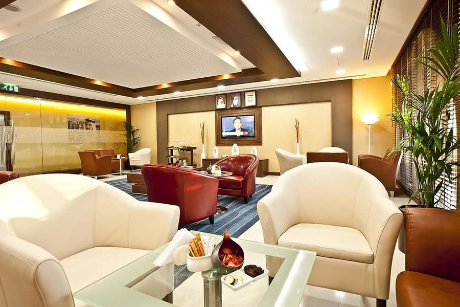 Exclusively Furnished Office | Premium Fittings