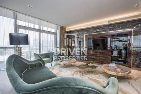 4 Bedroom Penthouse for Sale in Jumeirah, Dubai - Superb | Large Corner 4 Beds Simplex | Boulevard View