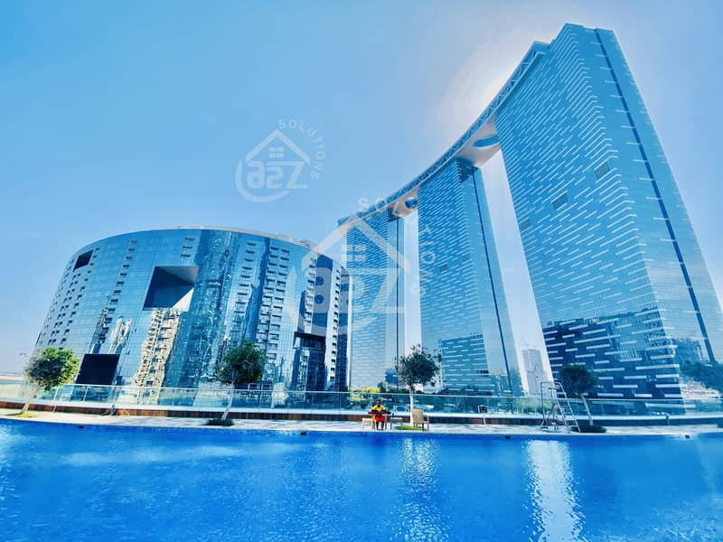 1 1 BHK @ Gate Tower@ 57000 in Al Reem Island