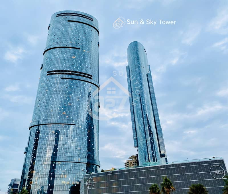 HOT DEAL!Sky Tower 2 BR Furnished Unit in Shams District!Al Reem Island