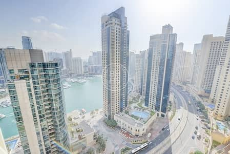 شقة 2 غرفة نوم للبيع في جميرا بيتش ريزيدنس، دبي - EXCLUSIVE | Panoramic Marina And Sea View | Vacant