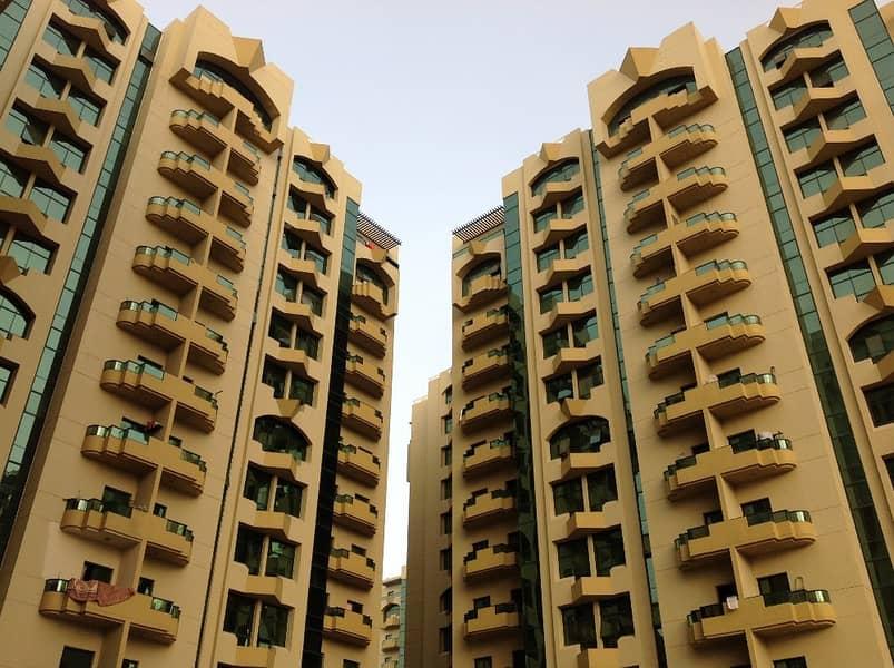 For rent 2 BHK in Alrashidiya towers very big size
