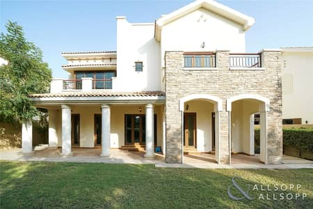 5 Bedroom Villa for Sale in Jumeirah Golf Estate, Dubai - New Listing | Girona | West Facing Aspect