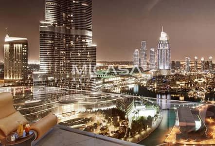 4 Bedroom Apartment for Sale in Downtown Dubai, Dubai - Glamorous & Spacious Four Bedroom Apartment In Starry & Sophisticated Downtown