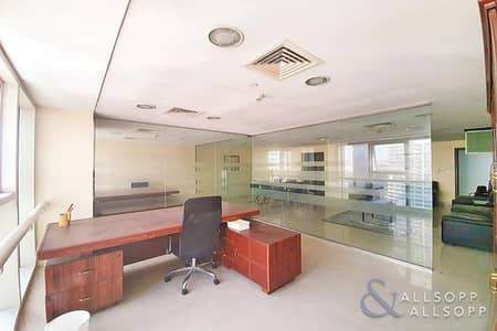مکتب  للبيع في أبراج بحيرات الجميرا، دبي - Fitted | Furnished | Next to Metro | Vacant