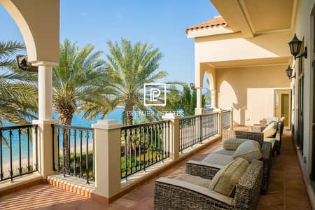 6 Bedroom Villa for Rent in Palm Jumeirah, Dubai - 6 Bedroom Signature Villa|Sea Views|Semi furnished