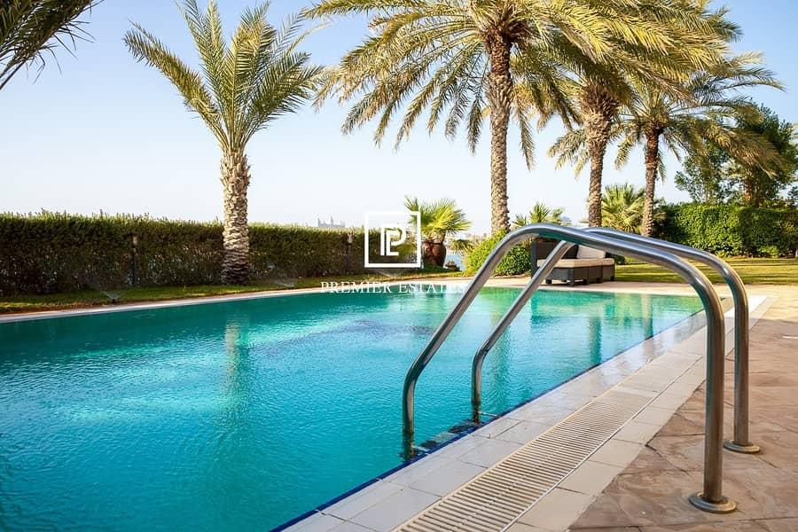12 6 Bedroom Signature Villa|Sea Views|Semi furnished