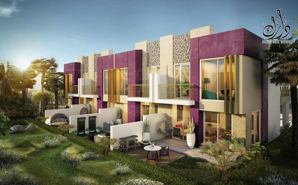 the first branded villa in dubai  3 year's post hand over .