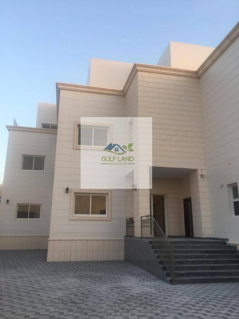 First tenant studio in shakhbout city for rent include electricity and water