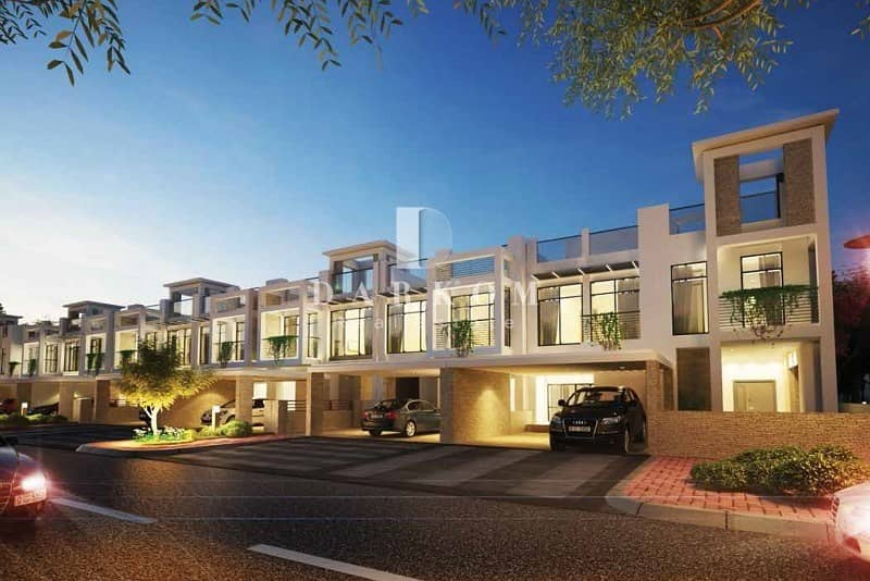 11 4 BR + Maid Townhouse in Polo Meydan