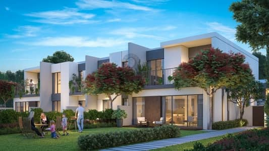 3 Bedroom Townhouse for Sale in Tilal Al Ghaf, Dubai - 3 BR Spacious Town House | 60/ 40 Payment Plan