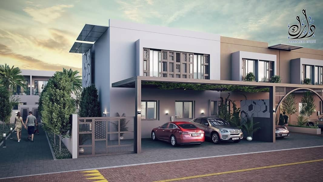 sustainable community in sharjah with 10% down payment + installment payment plan