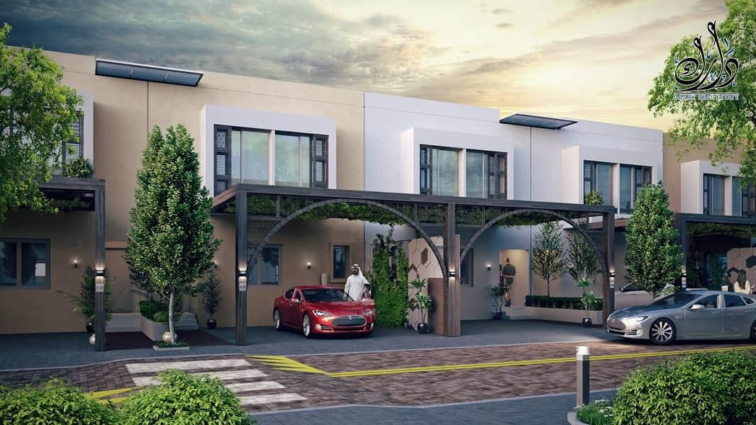 2 sustainable community in sharjah with 10% down payment + installment payment plan
