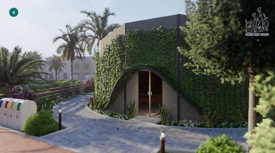 14 sustainable community in sharjah with 10% down payment + installment payment plan