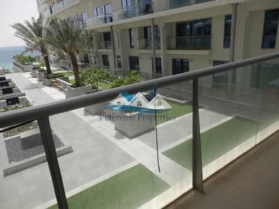 شقة 1 غرفة نوم للايجار في جزيرة المرجان، رأس الخيمة - Super one bed Pacific with sea &  community view