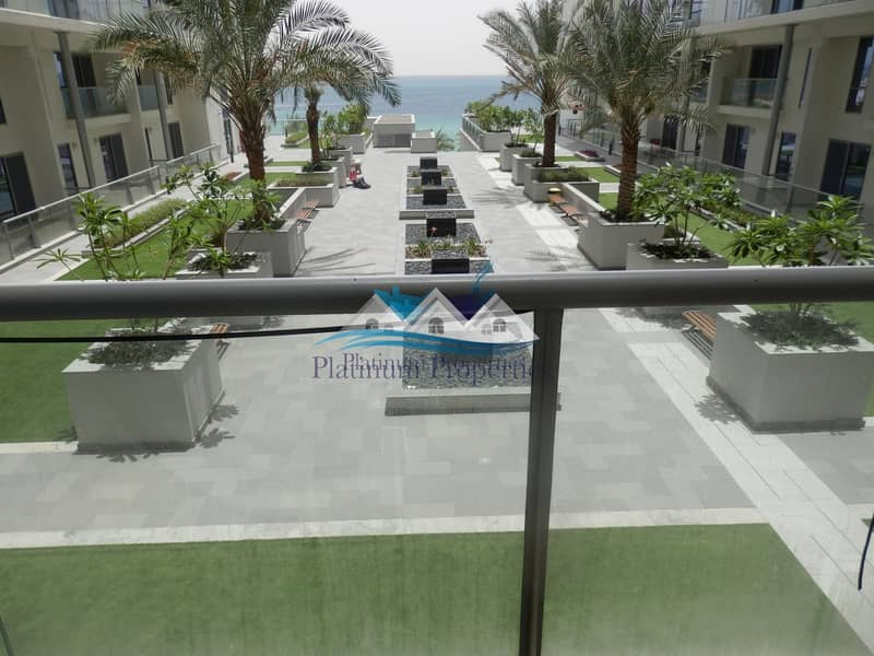 11 Super one bed Pacific with sea &  community view