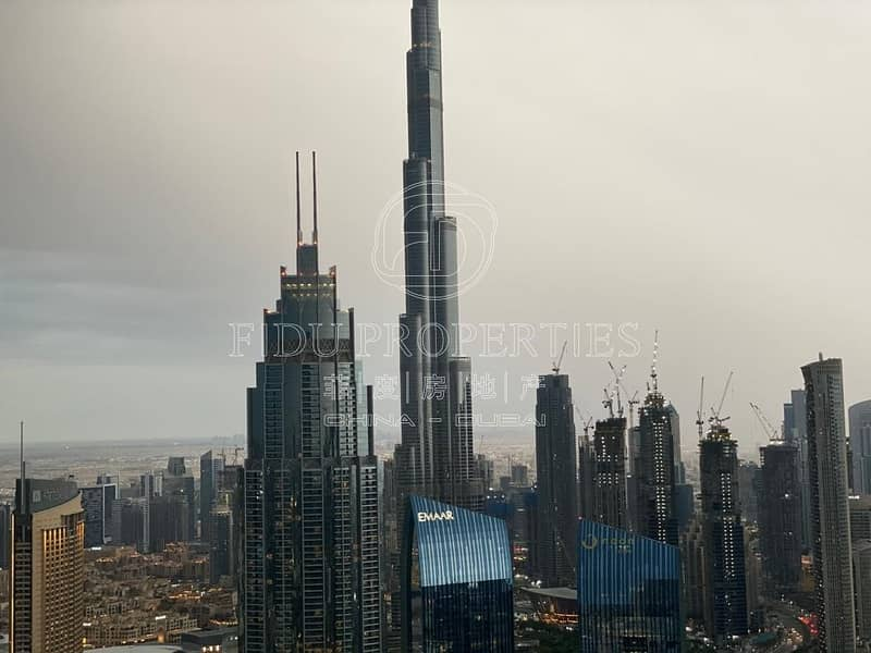Full Burj Khalifa View | Fully Furnished | Vacant