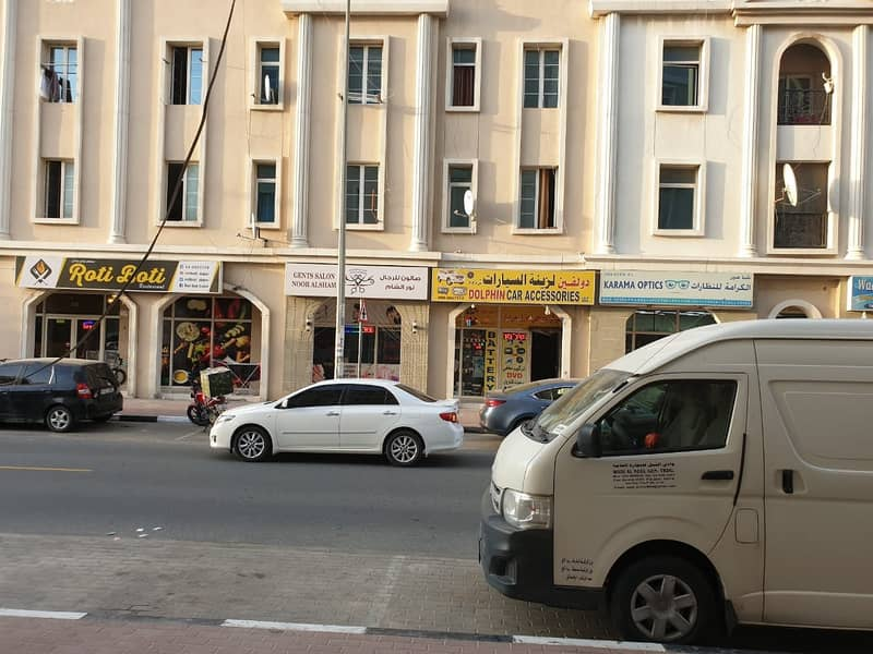 Best Location -Corner Shop Available For Rent in France Cluster-Q Block