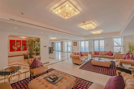 5 Bedroom Penthouse for Sale in Dubai Marina, Dubai - Half-Floor Penthouse | Exclusive | VOT