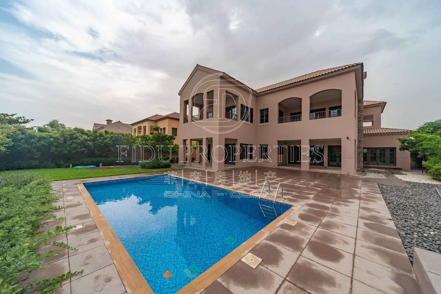 Facing Golf Course | Private Large Pool.