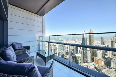 Best Layout with Balconies   DIFC Views   High Floor