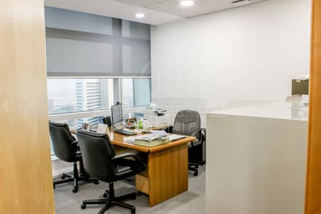 Floor for Sale in Business Bay, Dubai - Full Floor Fitted Office | Panoramic View