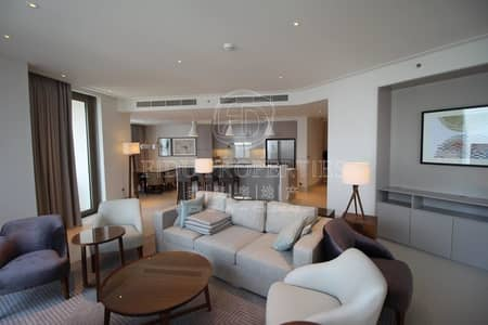 Burj Khalifa View | Furnished | 3 Bed plus Maids