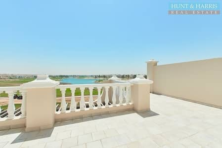 4 Bedroom Townhouse for Sale in Al Hamra Village, Ras Al Khaimah - 4 bedroom Townhouse + Maids - Garden and Lagoon View