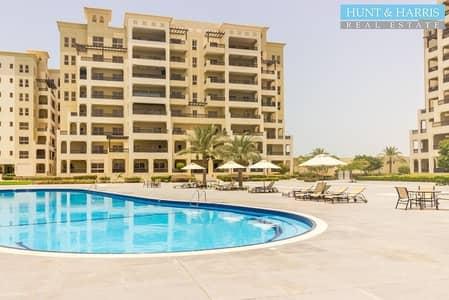 شقة 2 غرفة نوم للبيع في قرية الحمراء، رأس الخيمة - Lovely Views over the Lagoon and Beach