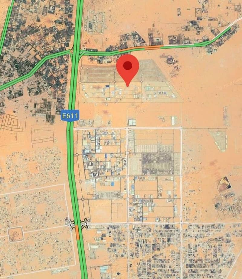 LAND FOR SALE IN NEW EMIRATES INDUSTRIAL AREA BLOK 2