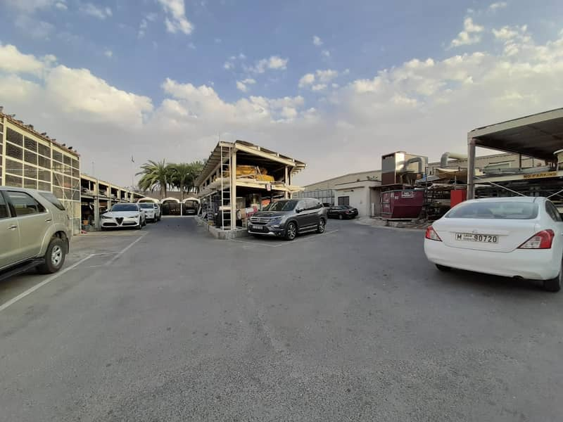 Al Quoz ind warehouses with high electricity fully furbished offices